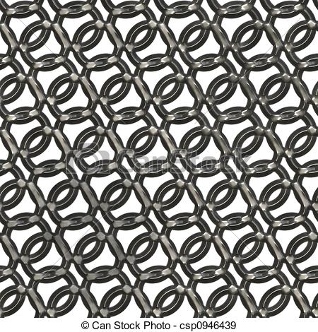 Stock Illustration of Chain mail.