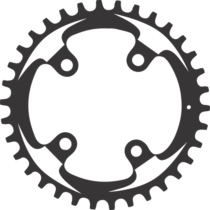 Chainring clipart #3