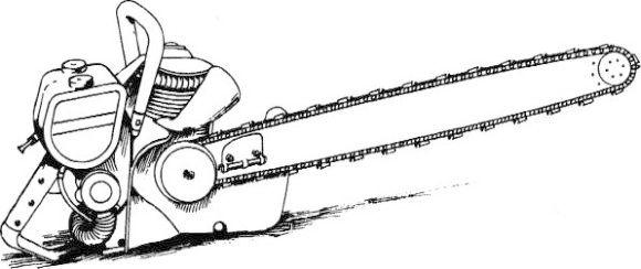 Stihl Chainsaw Clipart.