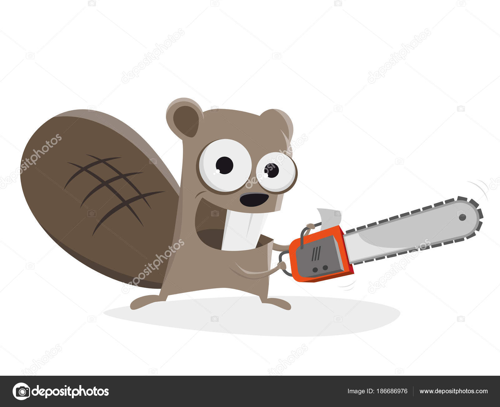 Clipart: chainsaw.