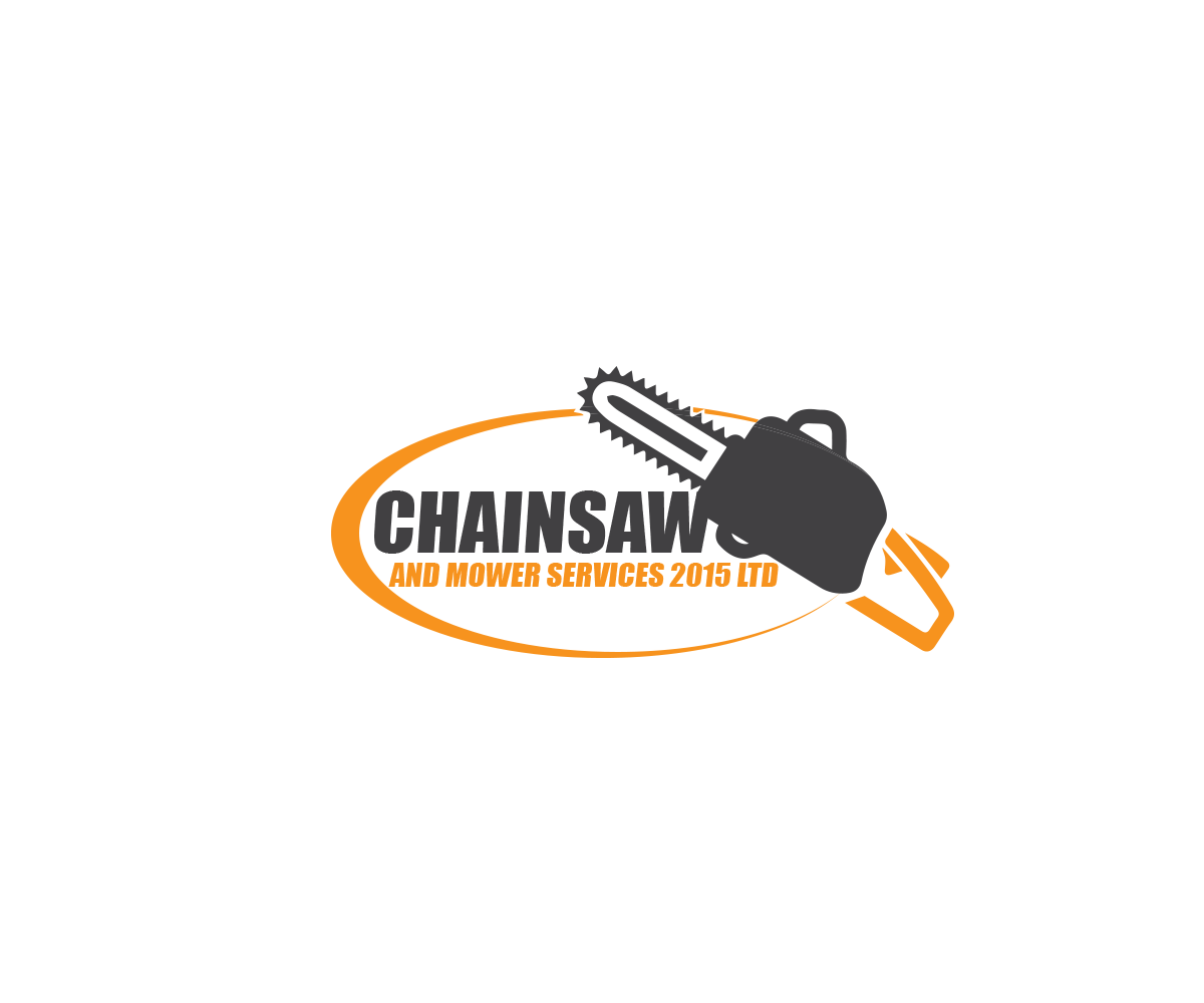 Modern, Bold, Business Logo Design for Chainsaw and Mower.