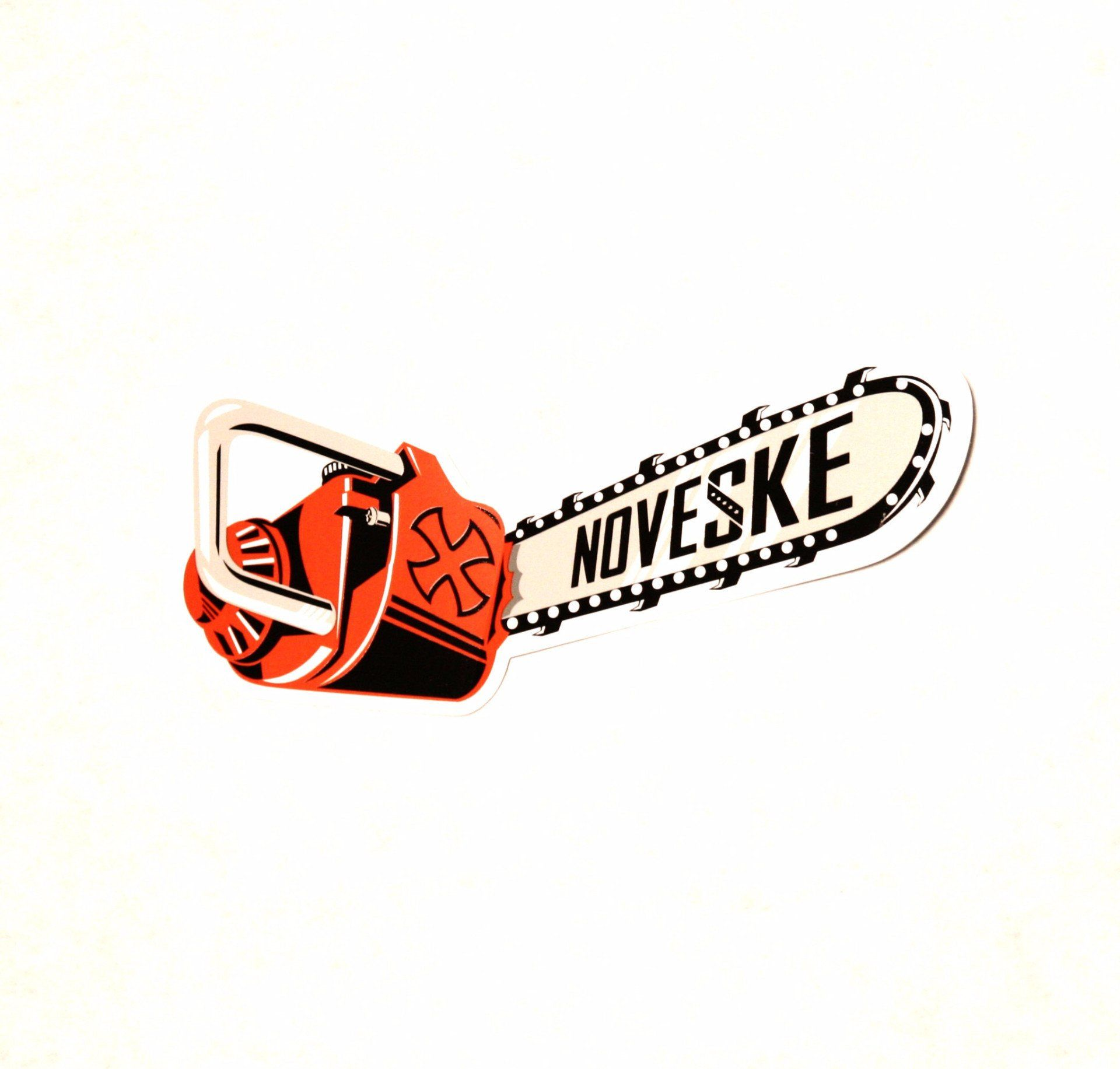 Noveske Chainsaw Sticker.