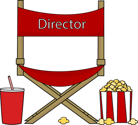 Director Chair Clipart.