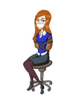 DeviantArt: More Like Chair Bound Gwen Alternate by REDdumpster.