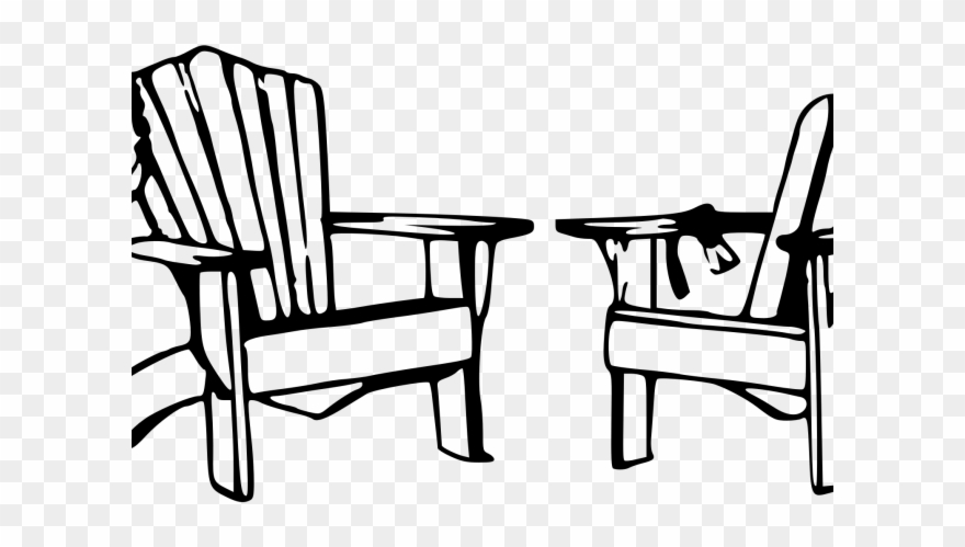 Chair Clipart Black And White.