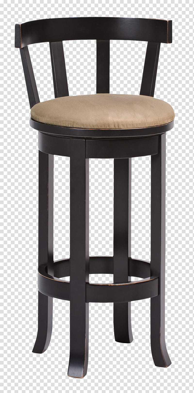 Brown wooden chair transparent background PNG clipart.