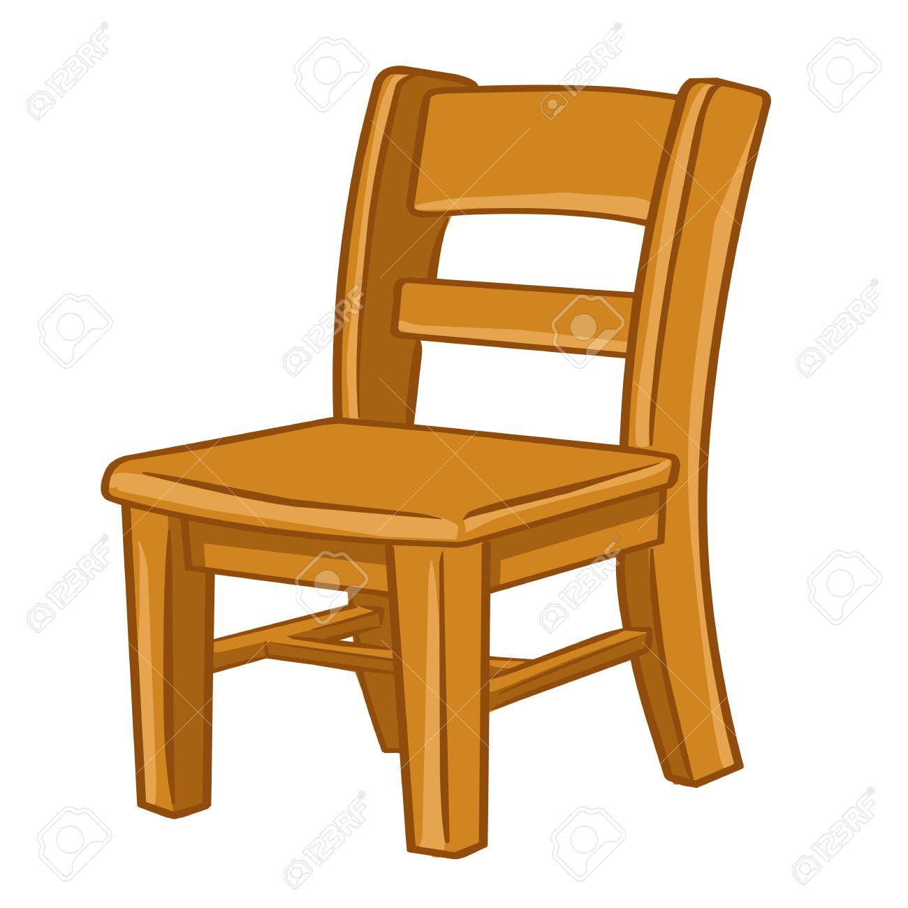 Wooden chair clipart 8 » Clipart Station.