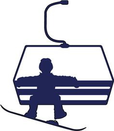 Chairlift clipart.