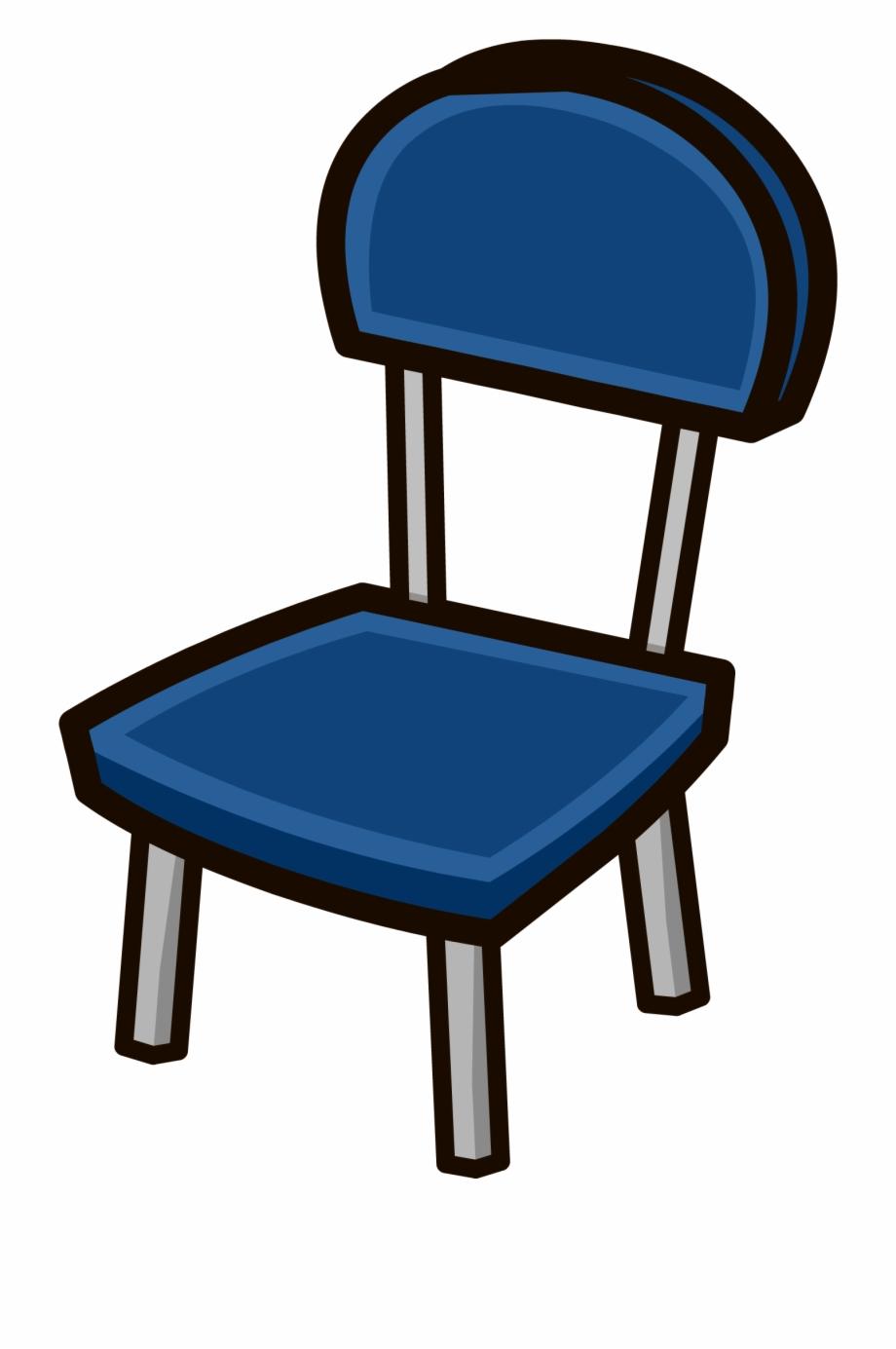 Chair Clipart Blue Chair.
