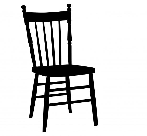 Chair Vector Clipart.