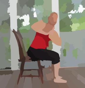 Chair Yoga Clip Art at Clker.com.