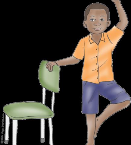 Yoga Clipart Chair Yoga.