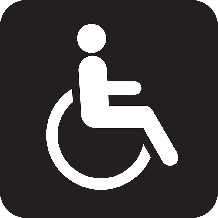 Free vector graphic: Wheelchair, Wheel Chair, Disabled.