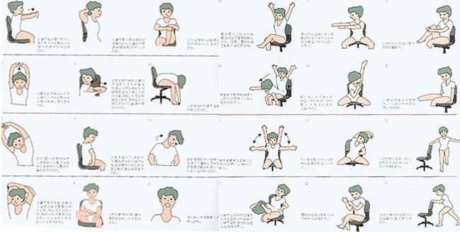 Chair Exercises for the Desk Bound.