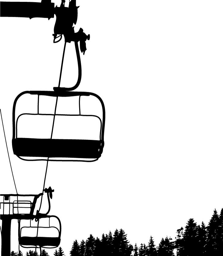 Chair Lift Clipart.