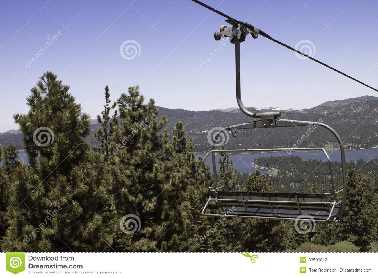 Summer Ski Lift Clipart.