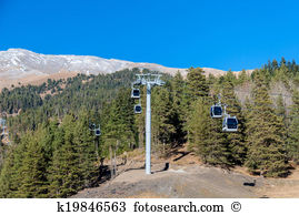 Chairlift Illustrations and Clip Art. 31 chairlift royalty free.