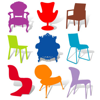 CLIPART CHAIRS.