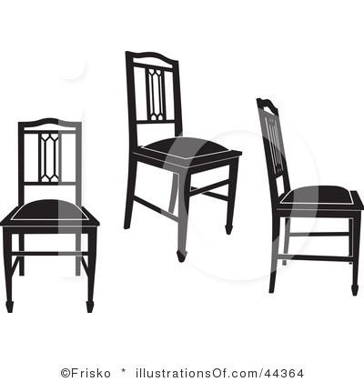 RF) Chairs Clipart.