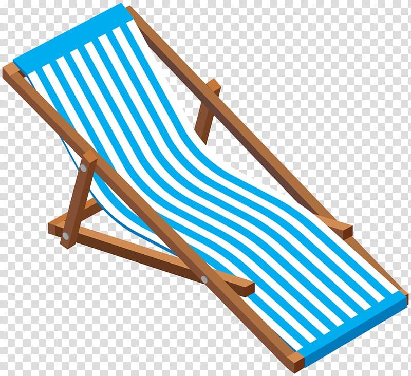 Chaise longue Deckchair Eames Lounge Chair , beach transparent.