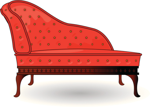 Chaise Longue Clip Art, Vector Images & Illustrations.