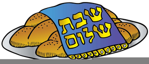Free Clipart Challah Bread.