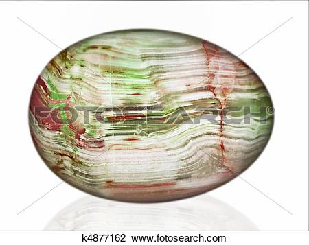 Clip Art of Chalcedony egg k4877162.