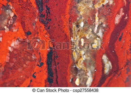 Stock Photos of Jasper, an aggregate of microquartz or chalcedony.