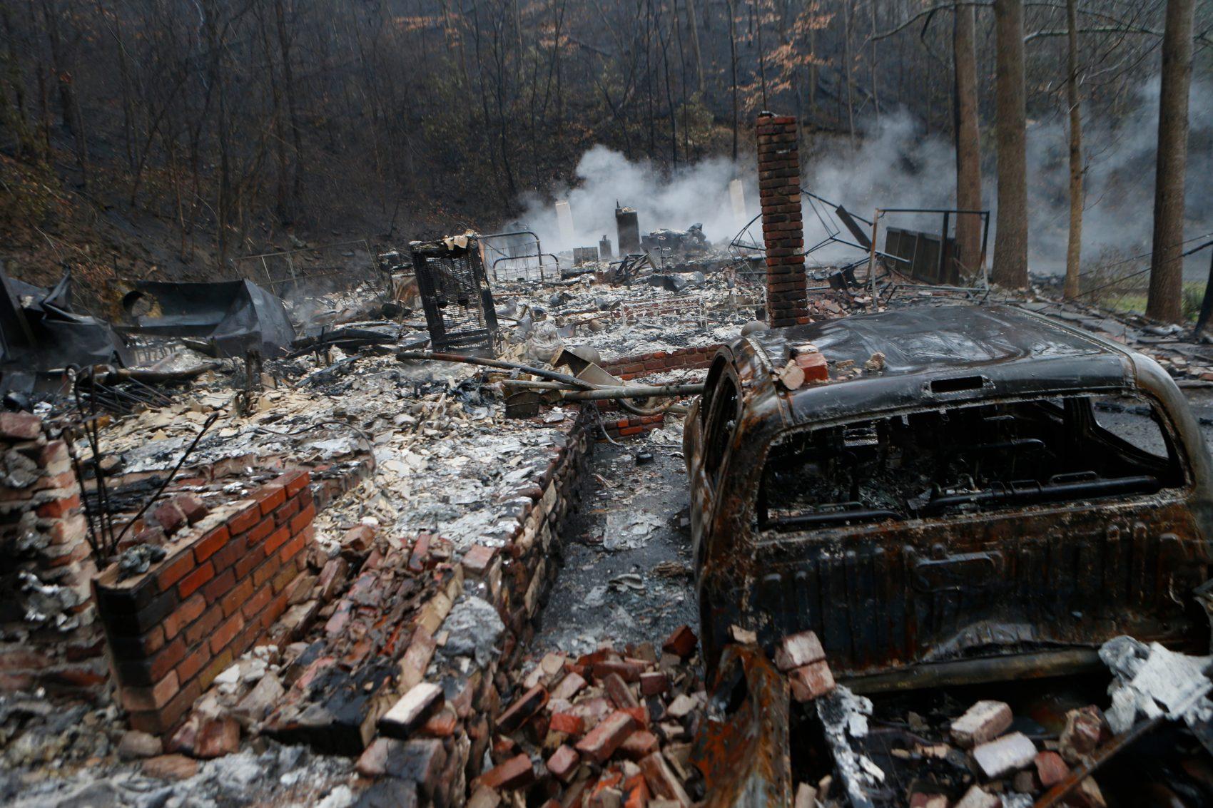 It Was Pure Devastation': Tennessee Fire Survivor Describes His.