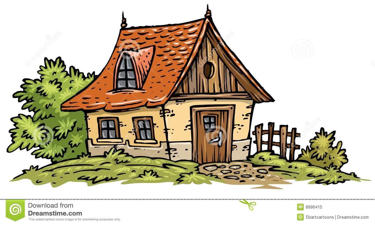 Cottages clipart.