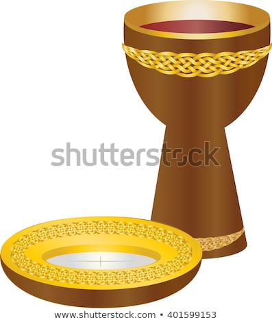 Vector Images, Illustrations and Cliparts: Eucharist symbols of.