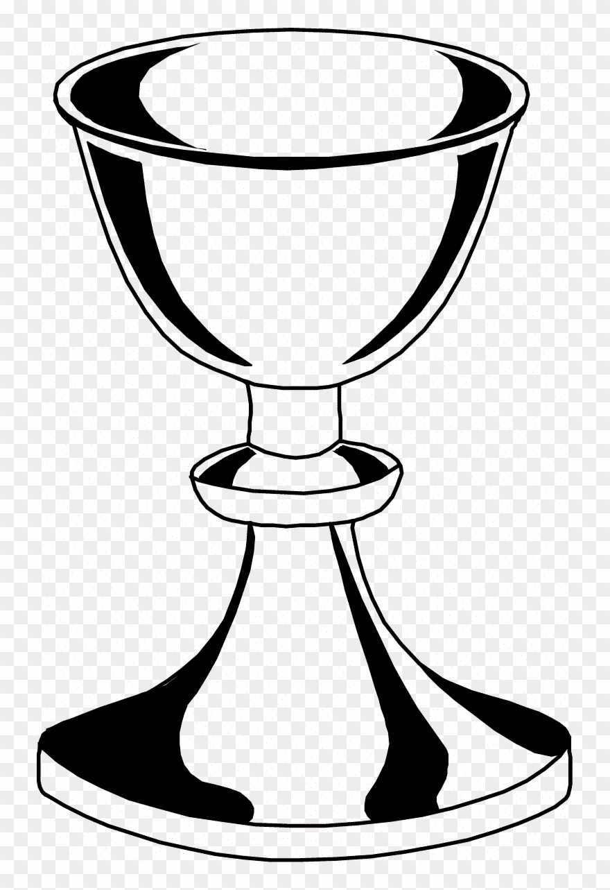 Daring Chalice And Host Coloring Page Paten Clipart.