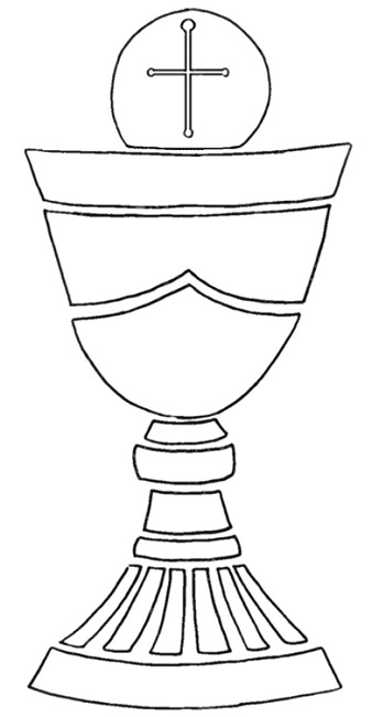 Chalice And Host Clipart.