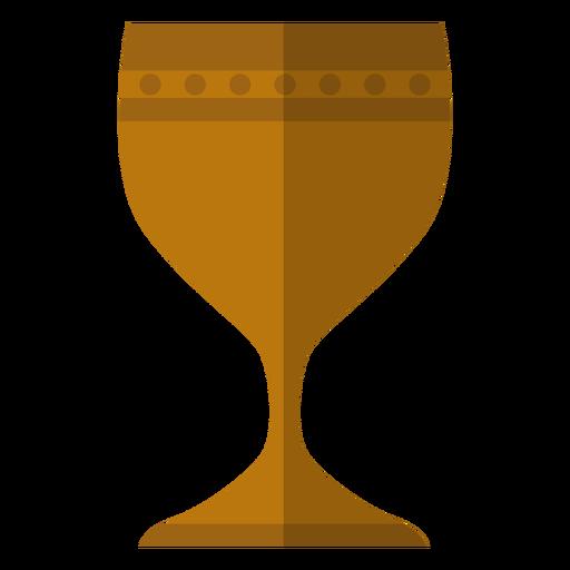 Kwanzaa chalice icon.