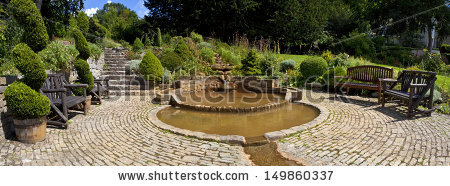 Chalice Well Stock Photos, Royalty.