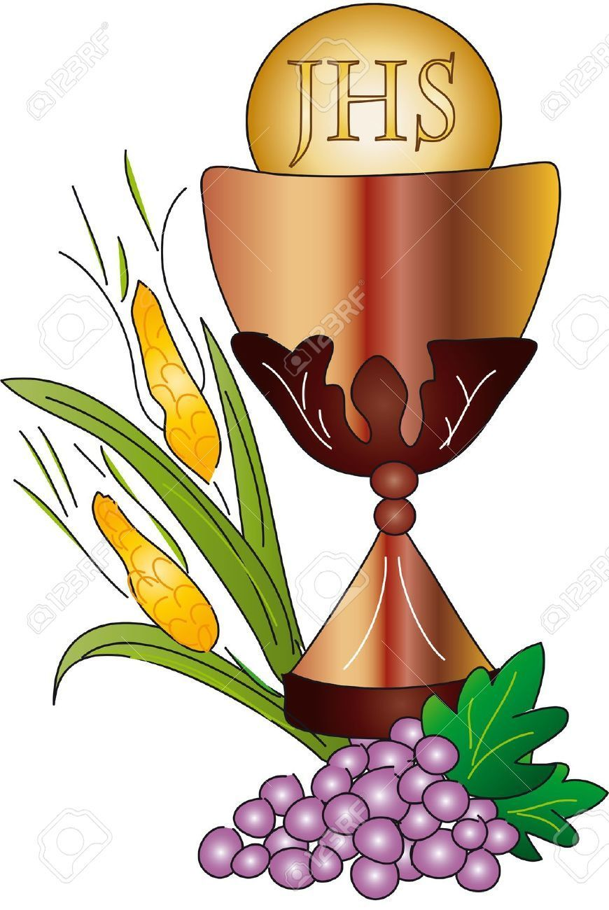 Chalice with host clipart 3 » Clipart Portal.
