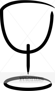 Simple Chalice Clipart.