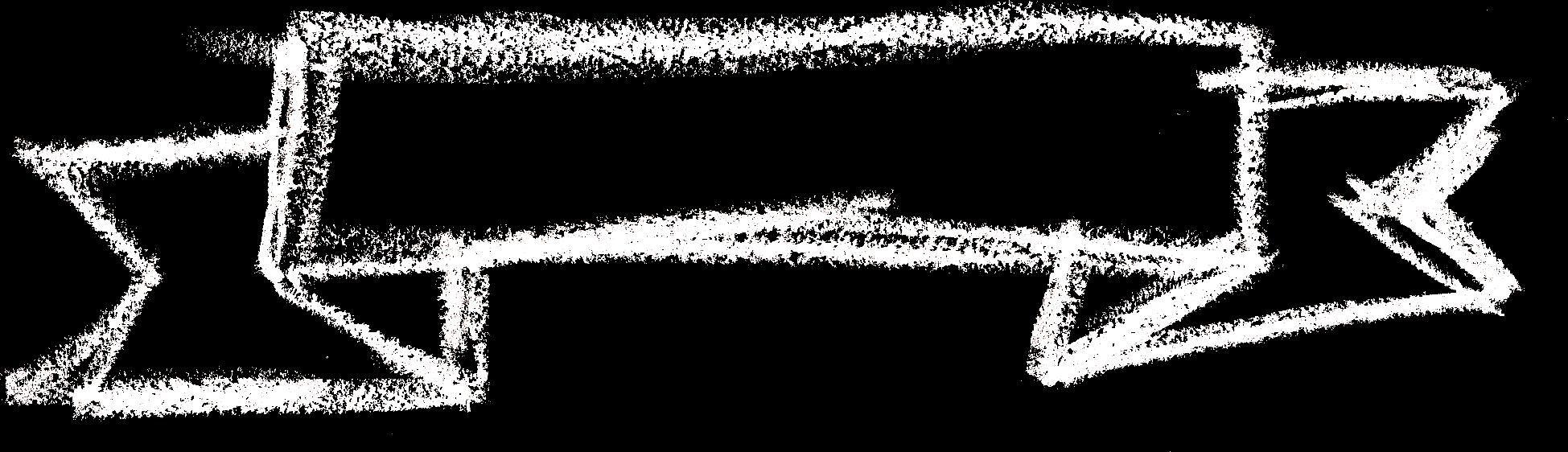 6 Chalk Banner (PNG Transparent).