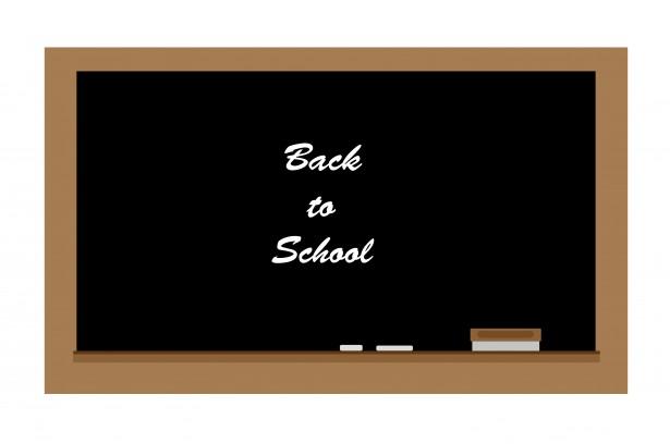 School Chalkboard Clipart Free Stock Photo.