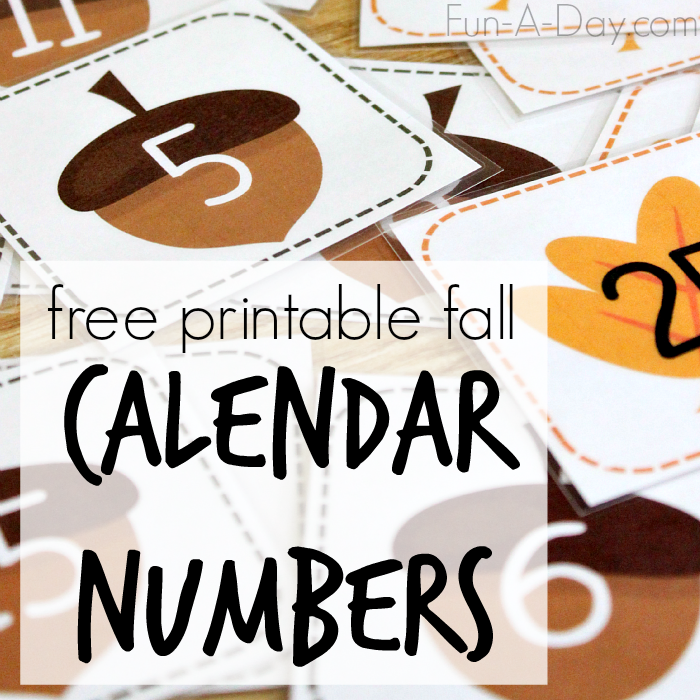 Calendar Free Clipart Numbers.