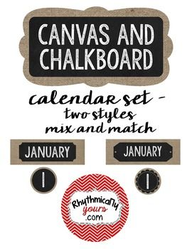 Calendar, Numbers and Style on Pinterest.