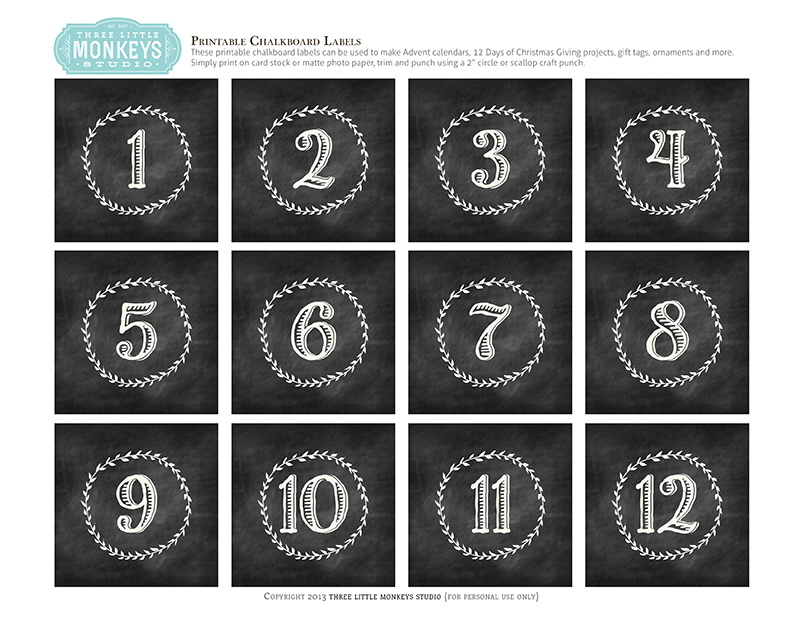 Calendar Numbers Clipart : Chalk calendar numbers clipart clipground