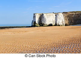 Stock Photography of Botany Bay Broadstairs Kent England.
