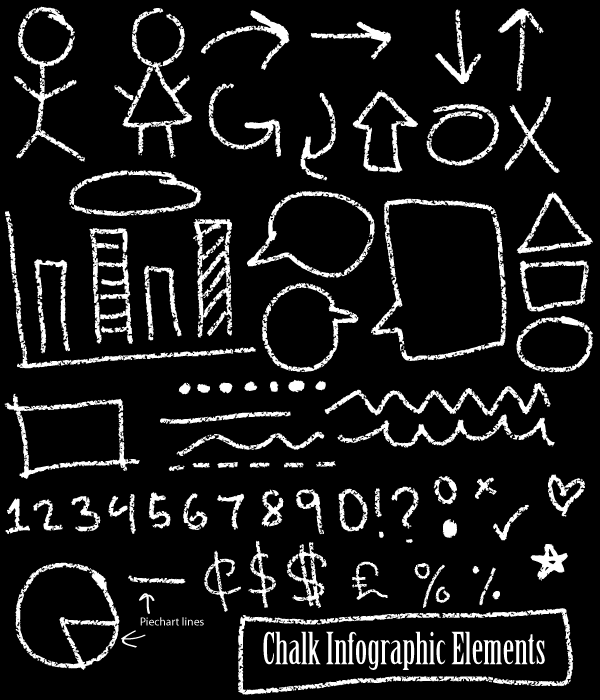 chalk vector free download.