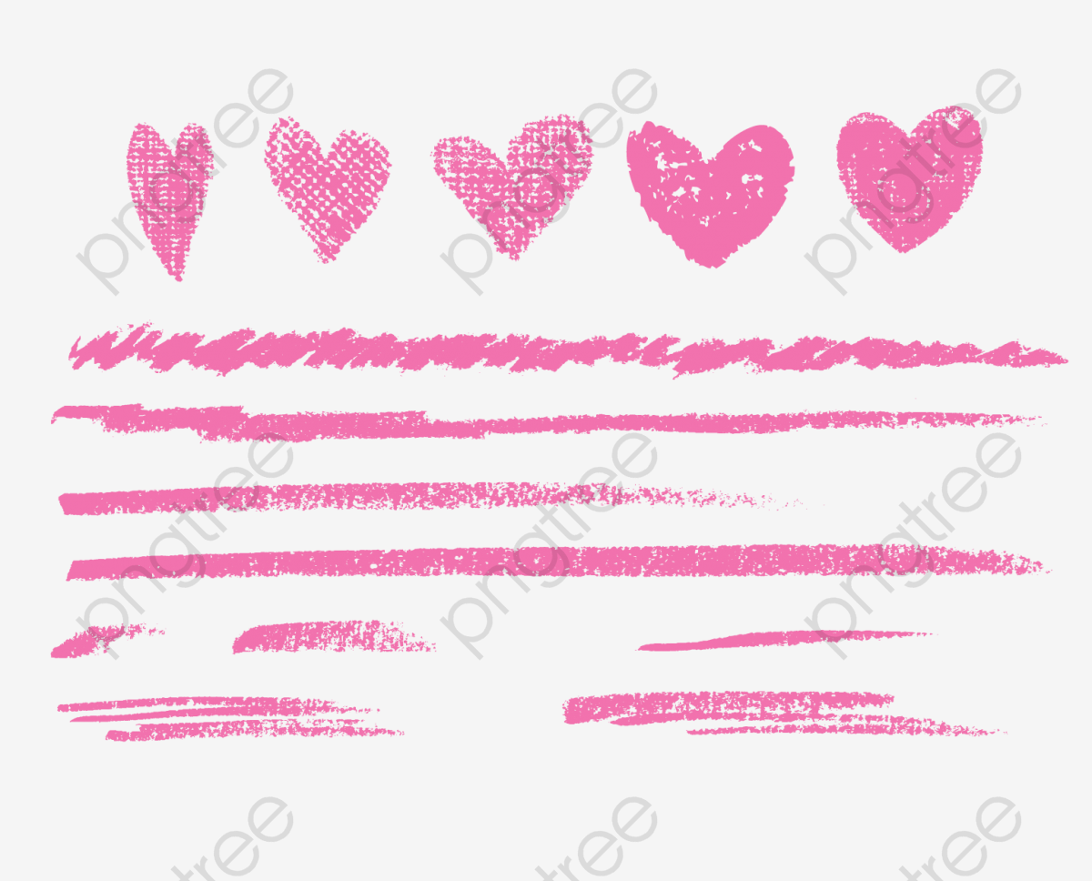 Vector Chalk Lines, Vector, Cartoon Material, Chalk Lines PNG and.