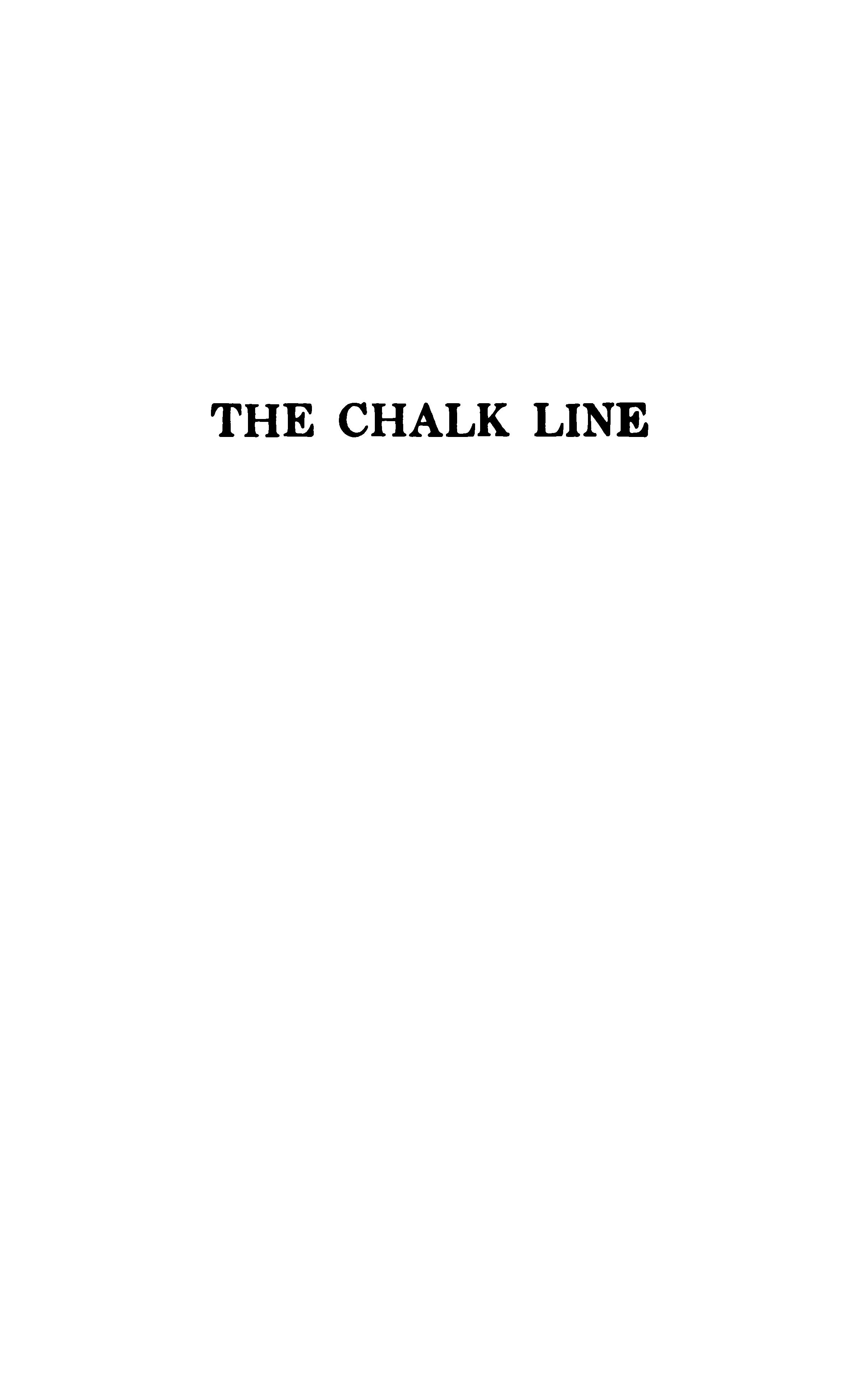 White Chalk Line Png.