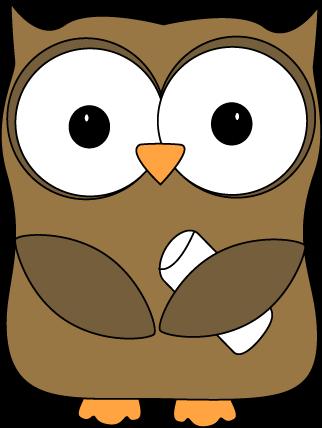Free Cute Owl Clipart.