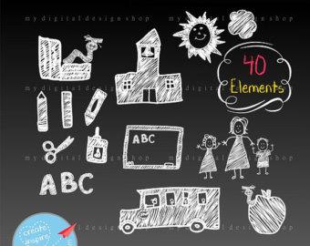 Chalk elements.