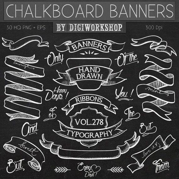Chalkboard Clip Art Clipart.