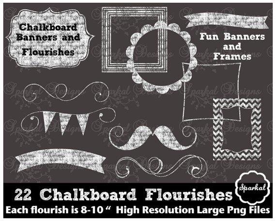 Chalkboard art clipart 2 » Clipart Portal.